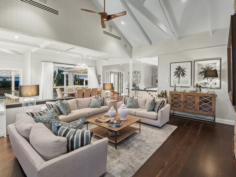 Hawthorne Hamptons House - Loungeroom