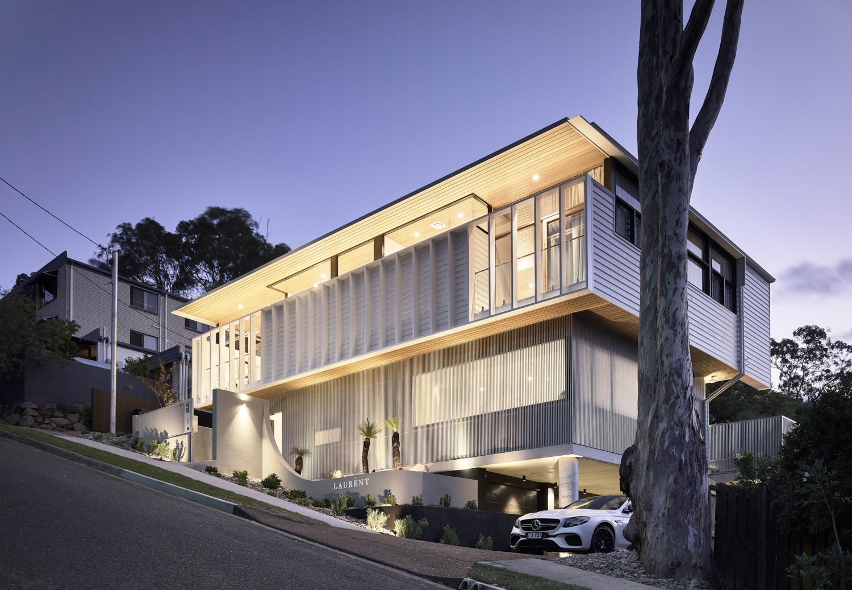 LAURENT Residence by GRAYA, Joe Adsett Architects, Frank Develop